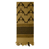 Rothco Crossed Rifles Shemagh Tactical Scarf, , hi-res