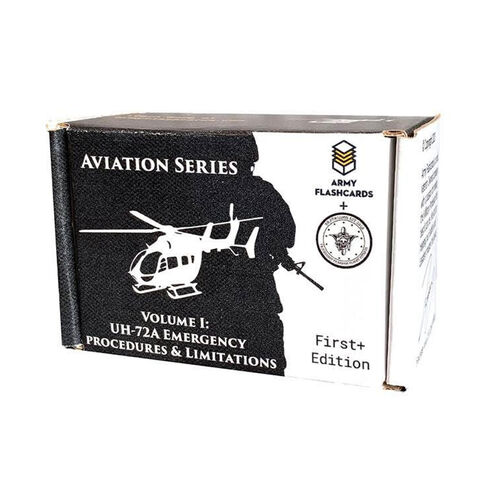 Army Flashcards UH-72A Lakota Helicopter Emergency Procedures and Limitations, , hi-res