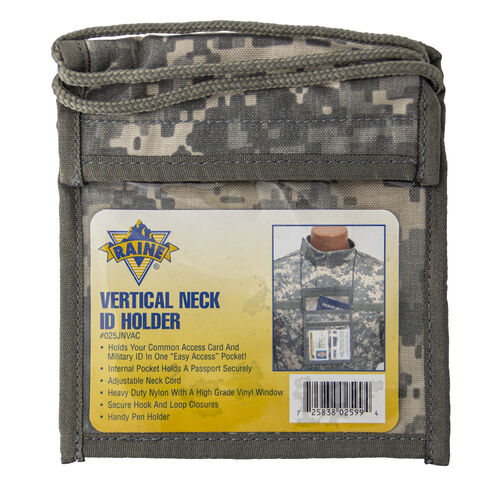 Raine Vertical Neck ID Holder, , hi-res