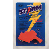 Rothco Storm All Weather Orange Safety Whistle, , hi-res