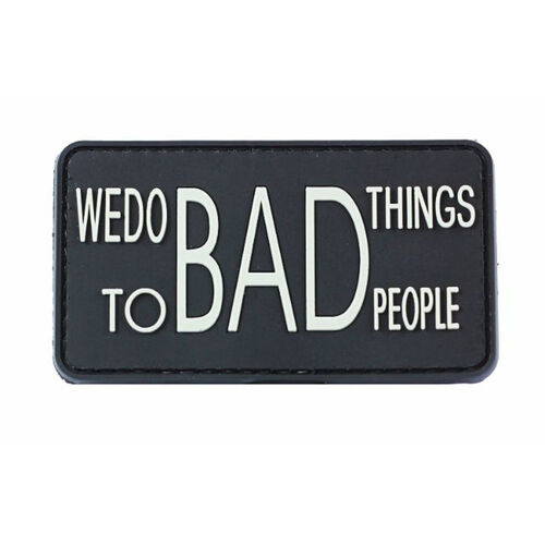 Bad Things PVC Morale Patch, , hi-res