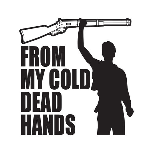 Cold Dead Hands Morale Car Decal, , hi-res