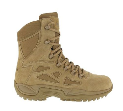 Reebok Rapid Response 8 Inch Stealth Boots, , hi-res