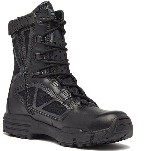 Tactical Research by Belleville Chrome 8 inch Hot Weather Side Zip Boots, , hi-res