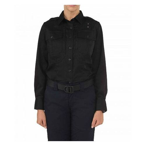 5.11 Tactical Women's Long Sleeve B Class Twill PDU Shirt, , hi-res
