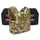 Shellback Tactical Banshee Rifle Lightweight Armor System with Level III LON-III-P Plates, , hi-res