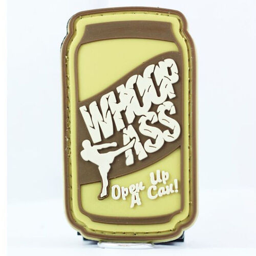 Whoop Ass PVC Morale Patch, , hi-res