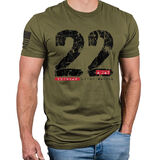Nine Line Apparel 22 A Day T-Shirt, , hi-res