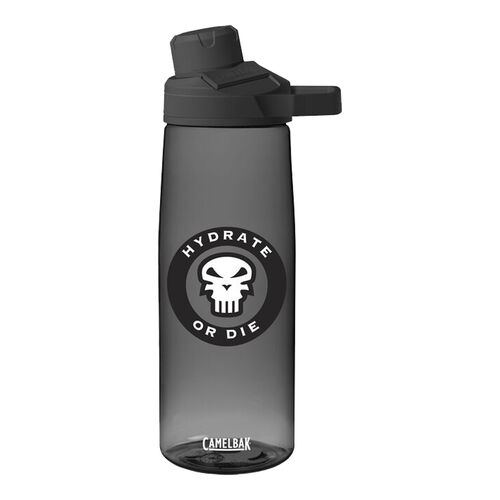 """Camelbak Chute® Mag 25 oz """"Hydrate or Die"""" Bottle with Tritan™ Renew, , hi-res"""