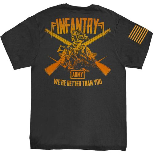 """Squared Away """"Infantry, We're Better Than You"""" T-Shirt, , hi-res"""