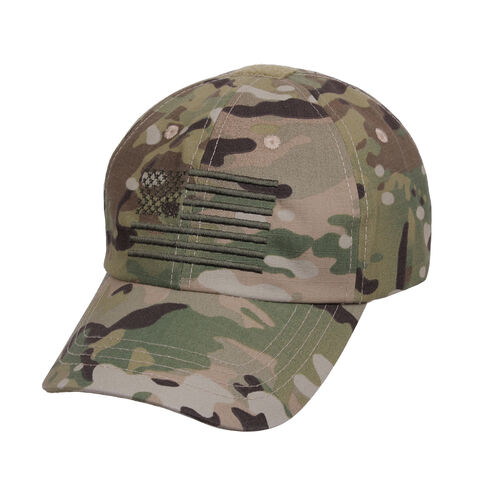 Rothco Tactical Operator Cap With US Flag, , hi-res