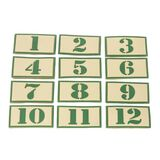 Tactical Baby Gear Numbers Patch Set, , hi-res