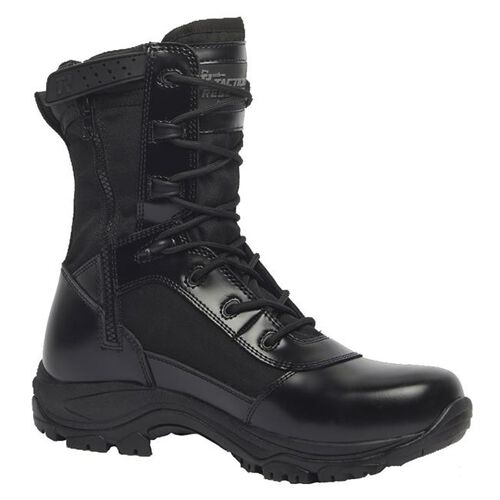 Tactical Research by Belleville 8 Inch Class-A Hot Weather High Shine Waterproof Side Zip Boots, , hi-res