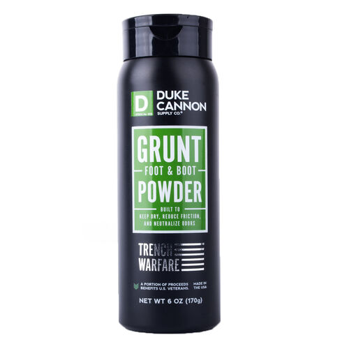 Duke Cannon Grunt Foot & Boot Powder, , hi-res