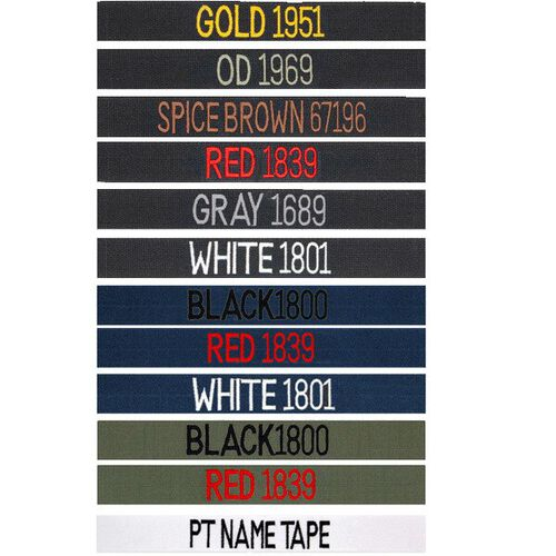 US Patriot Embroidered 5.5in. Uniform Name Tape, , hi-res