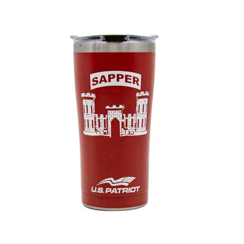 """Tervis """"Army Sapper"""" 20 oz Stainless-Steel Tumbler, , hi-res"""