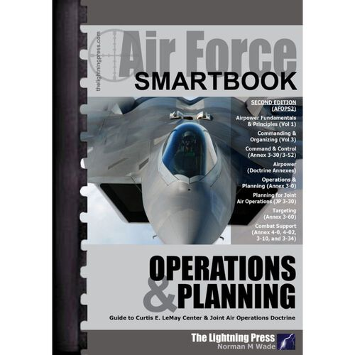 Air Force Operations & Planning SMARTbook 2nd Ed., , hi-res