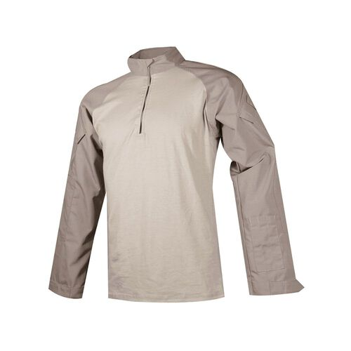 TRU-SPEC T.R.U.® 1/4 Zip Combat Shirt Poly/Cotton Rip Stop, , hi-res