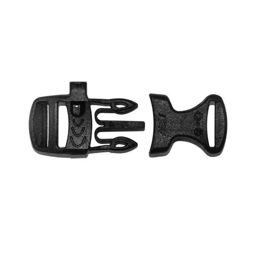 Rothco Whistle Side-Release Black Buckle 3/4 Inch, , hi-res