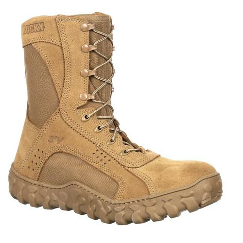 Rocky S2V Steel Toe Military Boots, , hi-res
