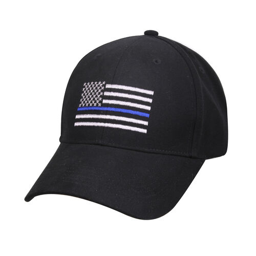 Rothco Thin Blue Line Flag Low Profile Cap, , hi-res