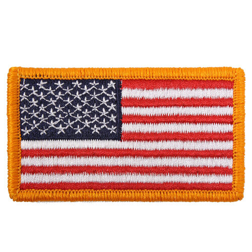 Rothco American Flag Patch with Hook Back, , hi-res