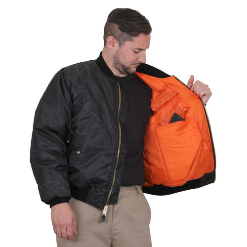 Rothco Concealed Carry MA-1 Flight Jacket, , hi-res