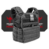 Shellback Tactical Banshee Rifle Active Shooter Kit with Level IV Model 4S17 Armor Plates, , hi-res