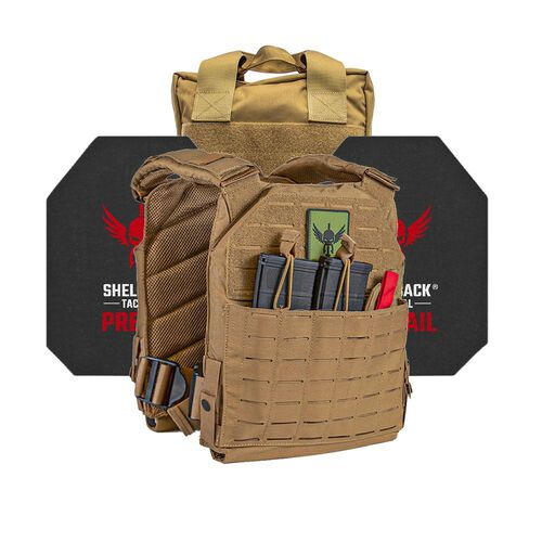 Shellback Tactical Defender 2.0 Active Shooter Kit with Level IV Model 4S17 Armor Plates, , hi-res
