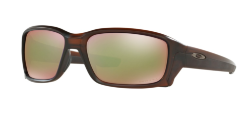 Oakley Straightlink Matte Rootbeer Frame Sunglasses With Prizm Shallow Polarized Lens, , hi-res