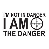 I Am the Danger Morale Car Decal, , hi-res
