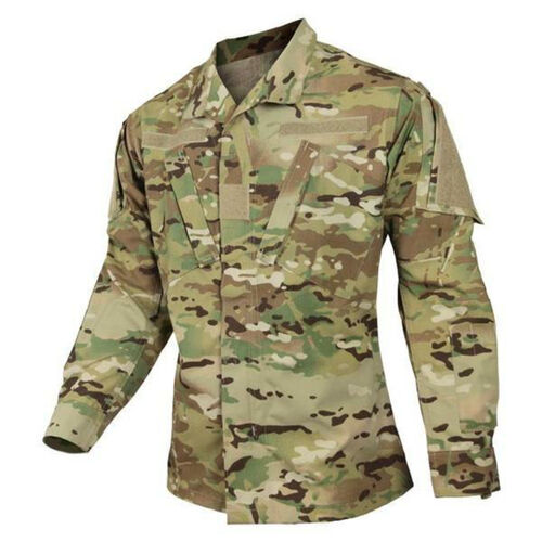 Army Modified Shirt 50/50 NyCo Rip-Stop Multicam, , hi-res