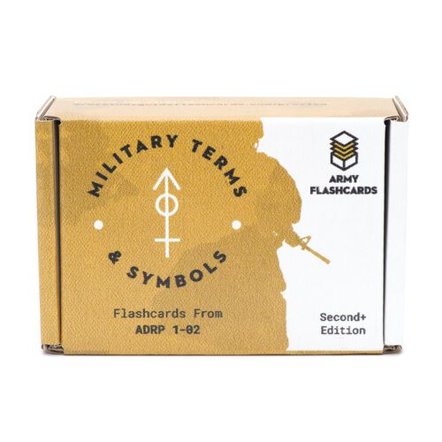 Army Flashcards Military Terms and Symbols Flashcards, , hi-res