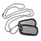 US Patriot Complete Dog Tag Military Identification Set, , hi-res