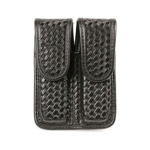 Blackhawk Molded Basketweave Double Row Double Mag Pouch, , hi-res