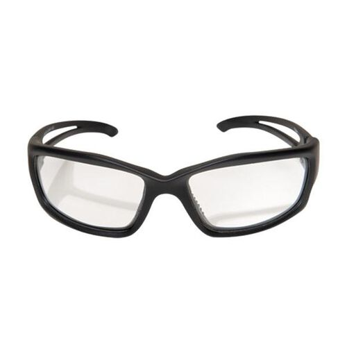 Edge Tactical Eyewear Blade Runner Matte Black With Clear Lens Glasses, , hi-res