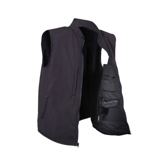 Rothco Concealed Carry Soft Shell Vest, , hi-res