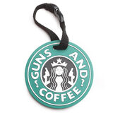 5ive Star Gear Guns And Coffee Luggage Tag, , hi-res