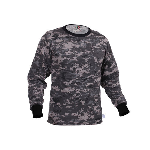 Rothco Long Sleeve Digital Camo Tee-Shirts, , hi-res