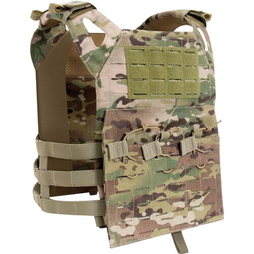 Rothco Laser Cut Lightweight Armor Carrier MOLLE Vest, , hi-res