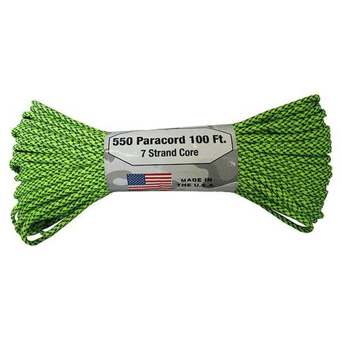 Atwood Rope 7 Strand 550 Paracord 100' G Spec, , hi-res