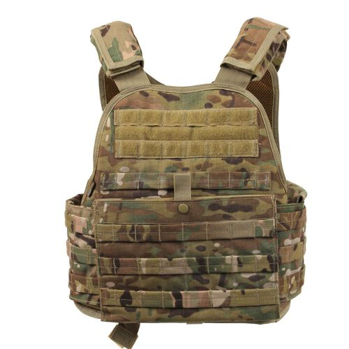 Rothco MOLLE Plate Carrier Vest, , hi-res