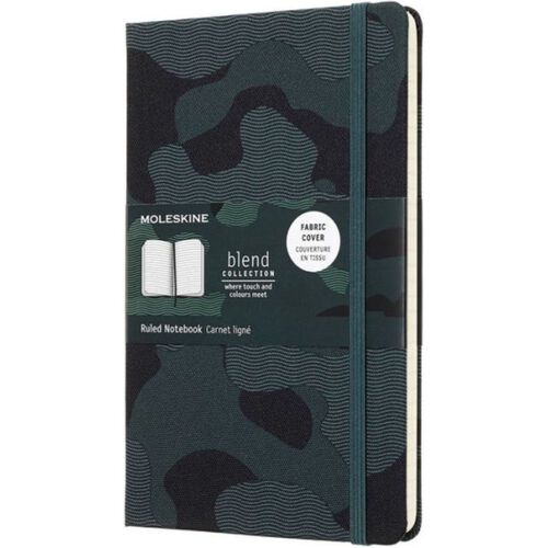 Moleskine Limited Camo Collection Notebook, , hi-res