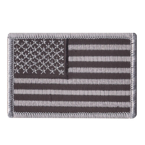 Rothco Iron On / Sew On Embroidered US Flag Patch, , hi-res