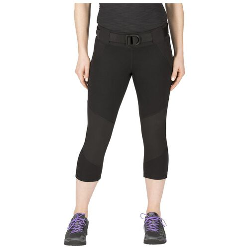 5.11 Tactical Women's Raven Range Yoga Capri Pants, , hi-res