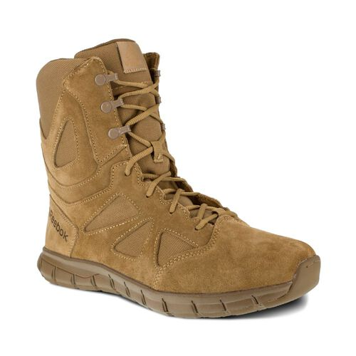 "Reebok Women's Sublite 8"" Military Boots, , hi-res"