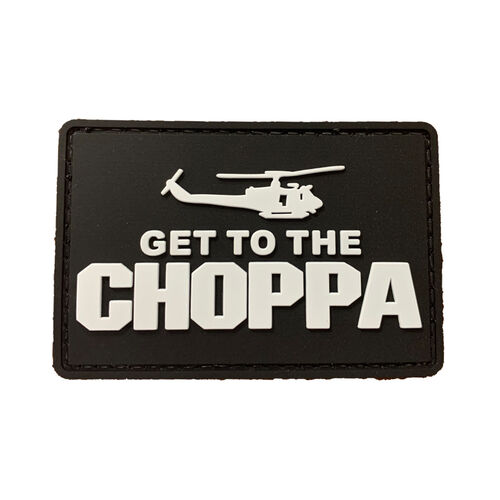 Get To The Choppa PVC Morale Patch, , hi-res