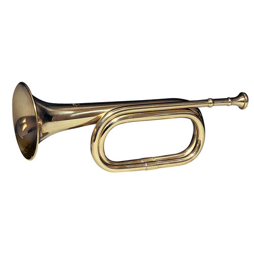 Rothco Brass Cavalry Bugle, , hi-res