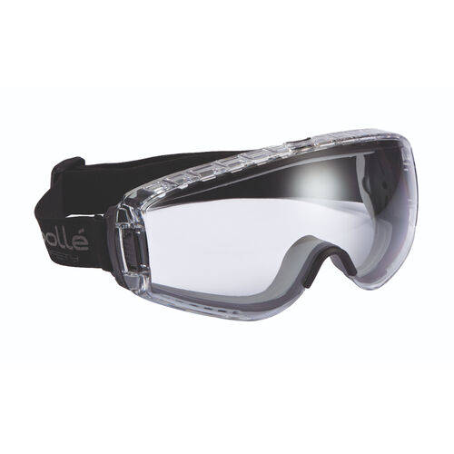 Bollé Safety PILOT Safety Goggles with Strap, , hi-res