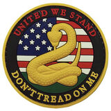 5ive Star Gear Don't Tread on Me PVC Morale Patch, , hi-res